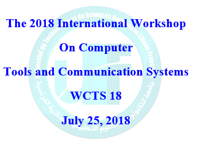 The 2018 International Workshopon ComputerTools and Communication SystemsWCTCS 18